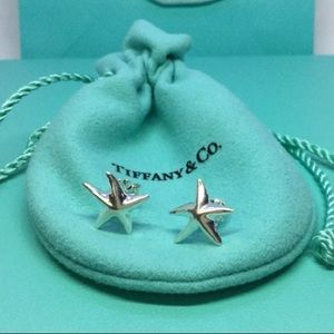 Tiffany starfish earrings